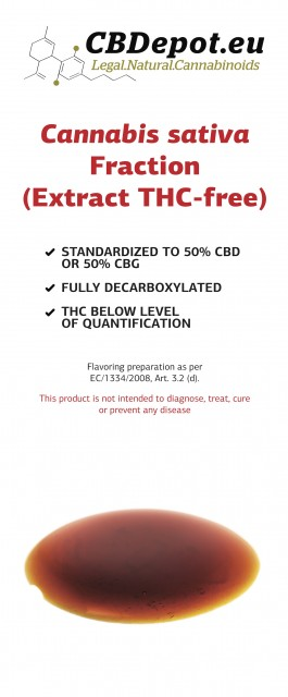 Cannabis Sativa Fraction (Extract THC-free)