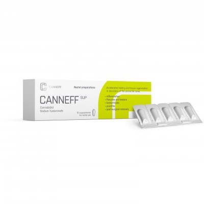 Compliant CBD suppositories registered with the Czech State Institute for Drug Control