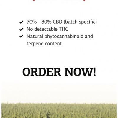 Cannabis Sativa Flower Fraction (THC free)